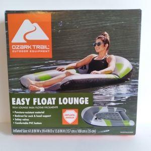 NEW Ozark Trail easy float lounge Pool Swim Beach